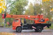 Автокран 25 тонн Углич КС-45726-4 КамАЗ-53605(4х2)