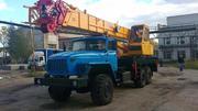 Автокран 35 тонн Углич КС-55743Б УРАЛ-4320(6х6) Вездеход