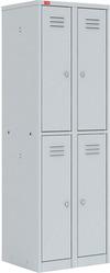 Металлический шкаф для одежды  ШРМ – 24 оптом и в розницу