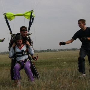 прыжки с парашютом и полёты