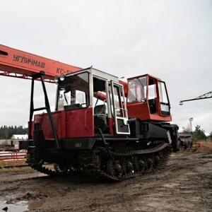 Автокран гусеничный 25 тонн Углич КС-56726 ТрелевочныйтракторТ-147 NEW