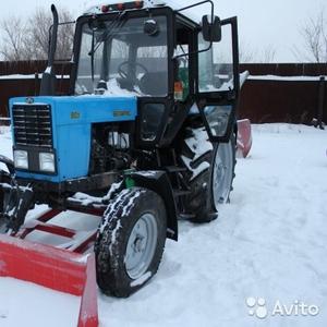Трактор Беларус 80.1 погрузчик экскаватор  грейферерный