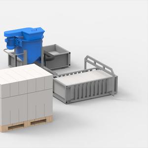 Мини производство газобетона АСМ-1МС