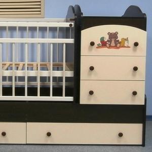 Кроватки-трансформеры для детей от 0 до 7 лет. Цены от 38 000 тенге