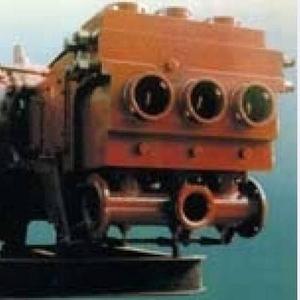 Насос плунжерный 14Т2 (с навесным двухступенчатым редуктором)